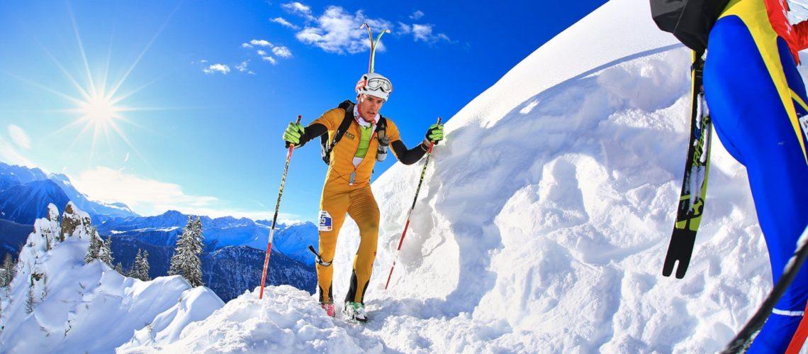 skijaško trčanje skijanje snijeg zima sport moda