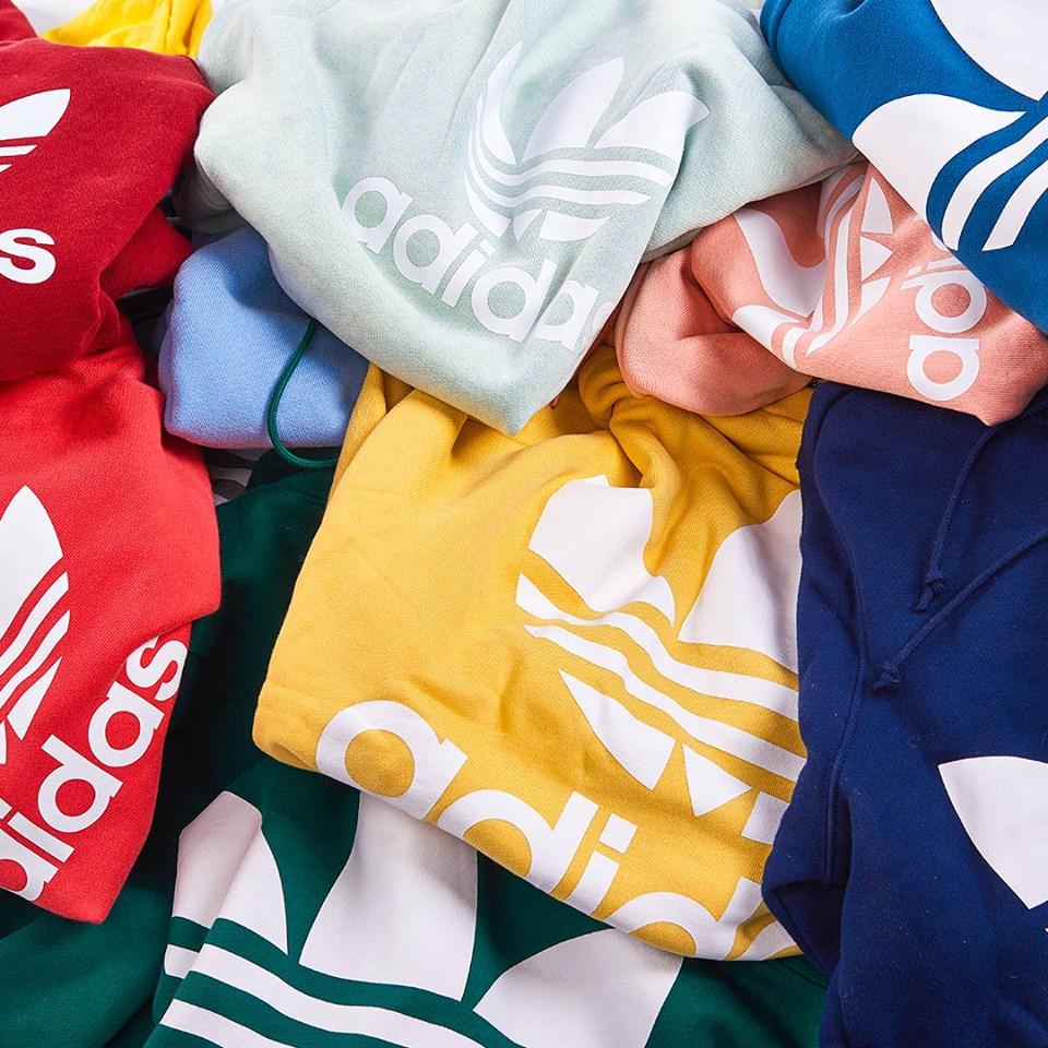 Adicolor, Adidas Adicolor, Bluebird, , Fairway Green hoodica, majice ,najbolje tenisice, Scarlett Red, Sun Yellow