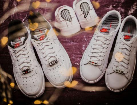 Air Huarache, Air Max 1, Broken heart kolekcija, nike, Nike Air Force 1 Low, tenisice, Valentinovo, Valentinovo 2018, žene