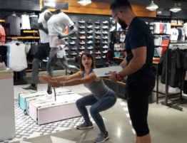 challenge day, nike, Nike store