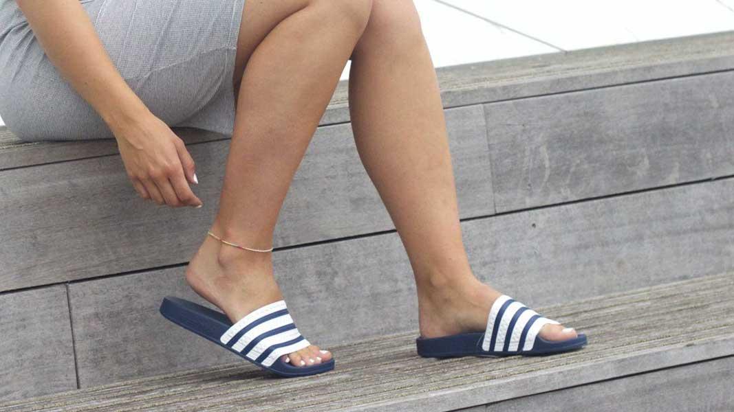 adidas, Adidas Adilette, Adilette CF+ explorer W, Adilette CF+ GR W, Adilette pool slides, Facebook, Mark Zuckerberg, moda, natikače, obuća, odjeća, Rihanna