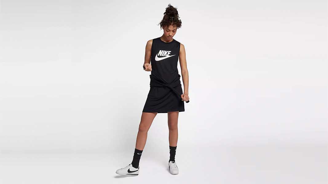Adidas women originals, haljine, japanke, natikače, Nike Sportswear Mesh, odjeća, sportska odjeća, sportske haljine, Stripa Raglan, Z.N.E. Long Tee